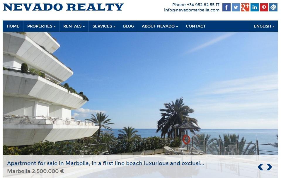 Real Estate in Marbella Nevado Realty
