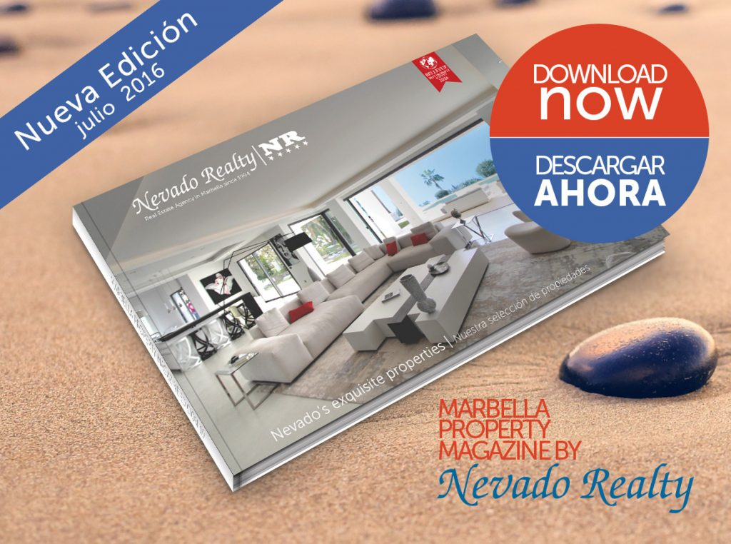 Nevado Realty Marbella Magazine