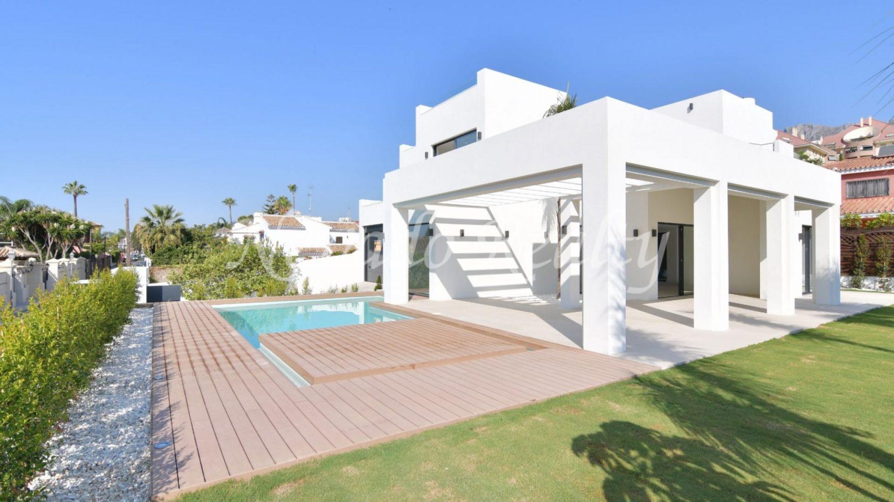 Brand new villa for sale in Marbella Centre