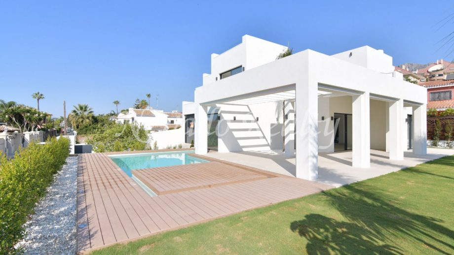 Brand new villa for sale in Marbella Centre