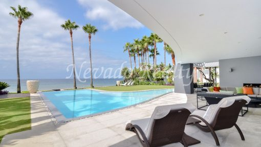 The luxury of beachside living in Marbella