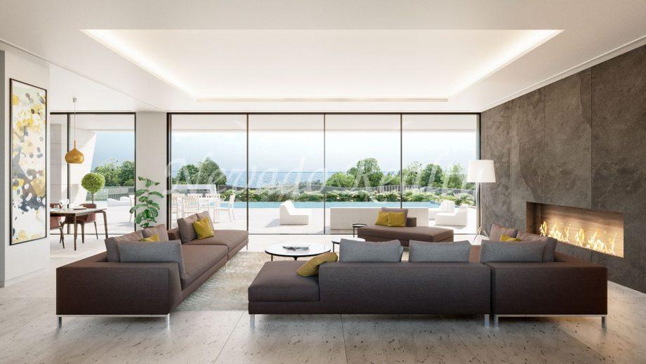 Magnifique villa neuve dans le Golden Mile de Marbella