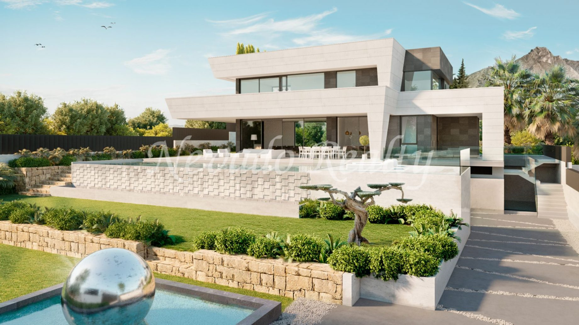 Brand new villa in Marbella
