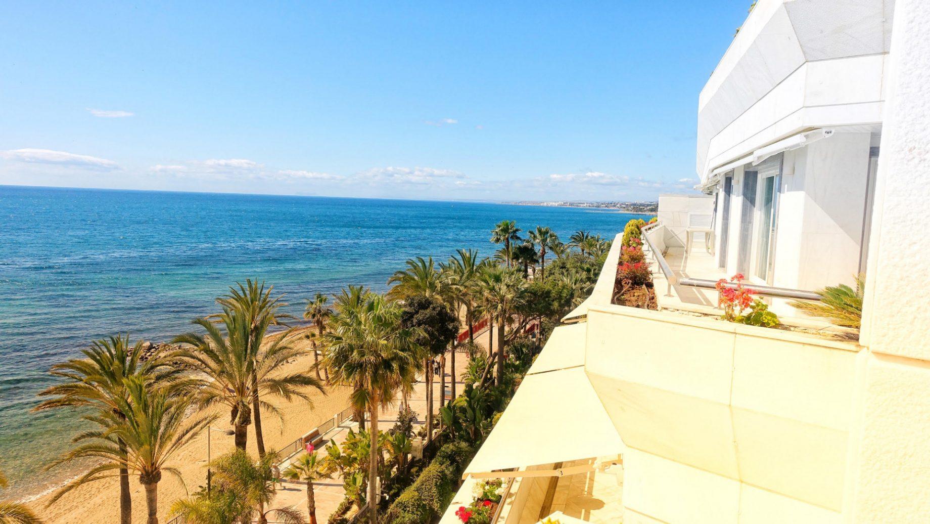 Visttas desde un apartamentos en Gran Marbella