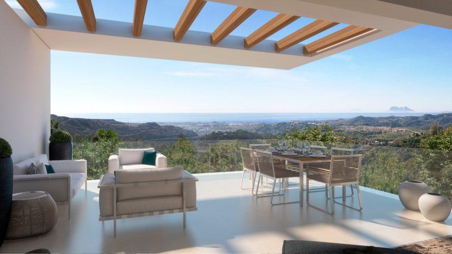 Promoción de apartamentos y áticos de lujo junto a Marbella Club Golf