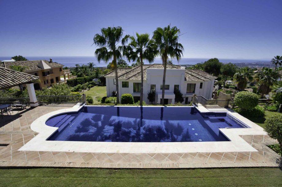 Villa de alquiler en Marbella