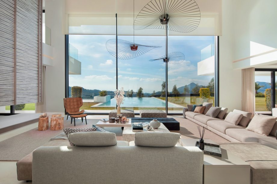 Villa en La Zagaleta para disfrutar del otoño en Marbella