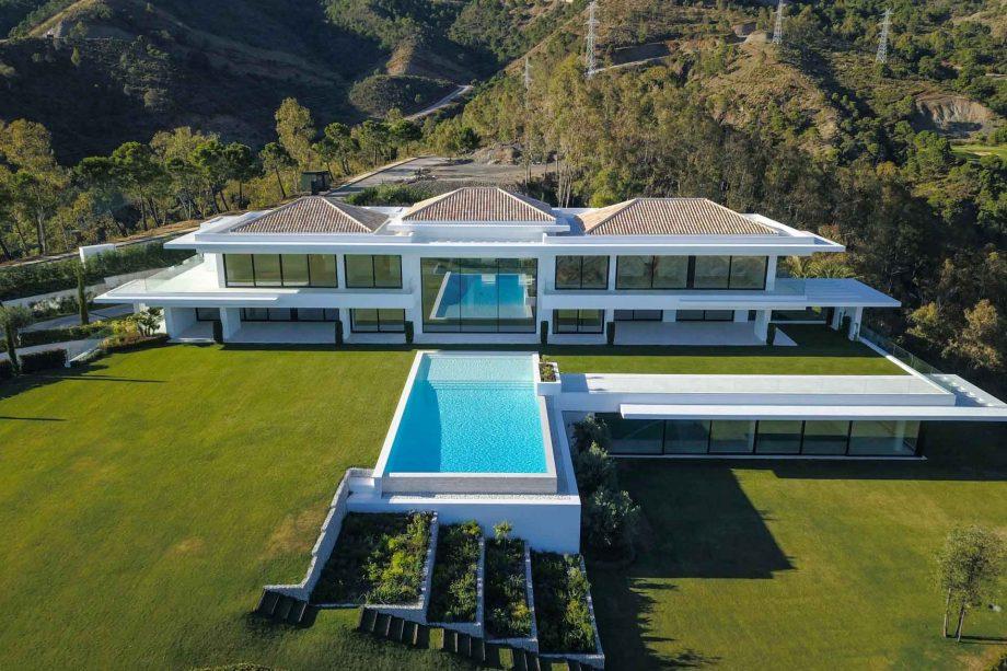 Villa en La Zagaleta, plano cenital