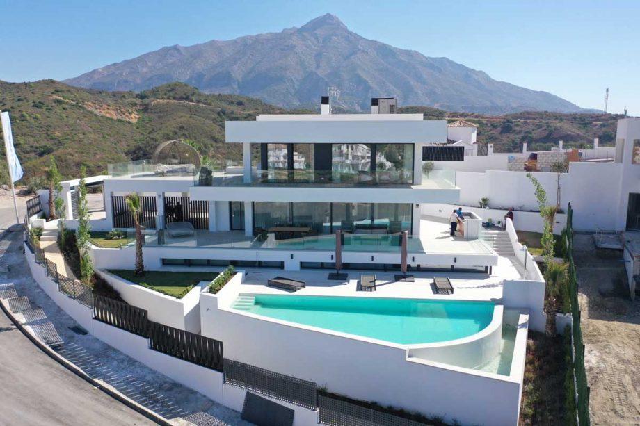 Villa en Nueva Andalucía junto al Puerto Banús