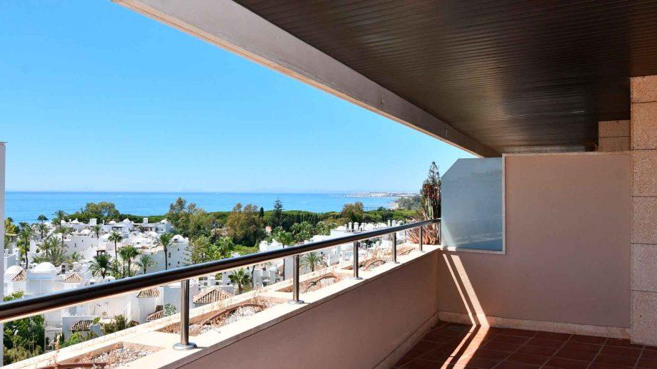 Apartamento con vistas panorámicas en residencial Palacio de Congresos