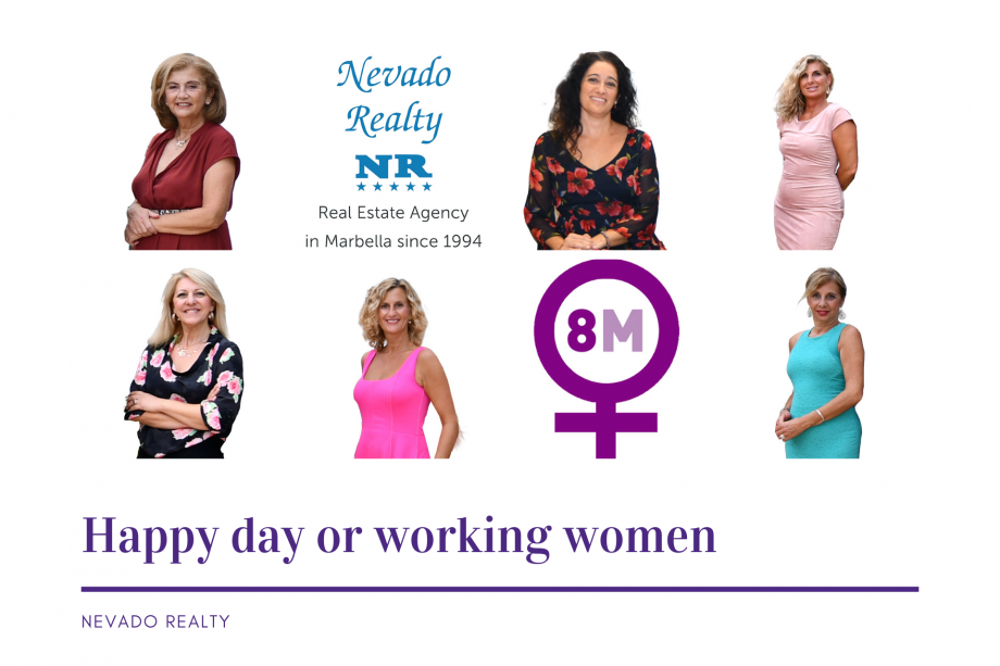 Day of working women graphic