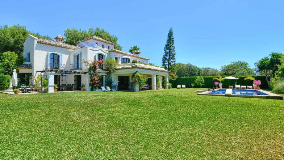 Villa en la Milla de Oro de Marbella
