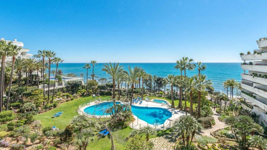 Vistas al mar desde apartamento en Gran Marbella
